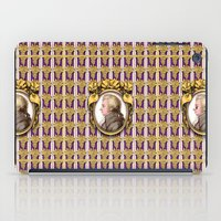 mozart iPad Cases featuring Mozart Wallpaper by Glenn Designs