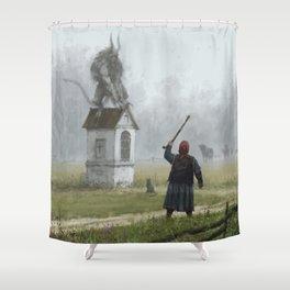 Czart Shower Curtain