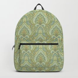 Gilded Paisley Backpack