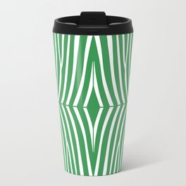 Kelly Green Zebra Travel Mug
