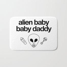 Alien Baby Baby Daddy Bath Mat
