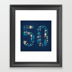 Fifty Framed Art Print