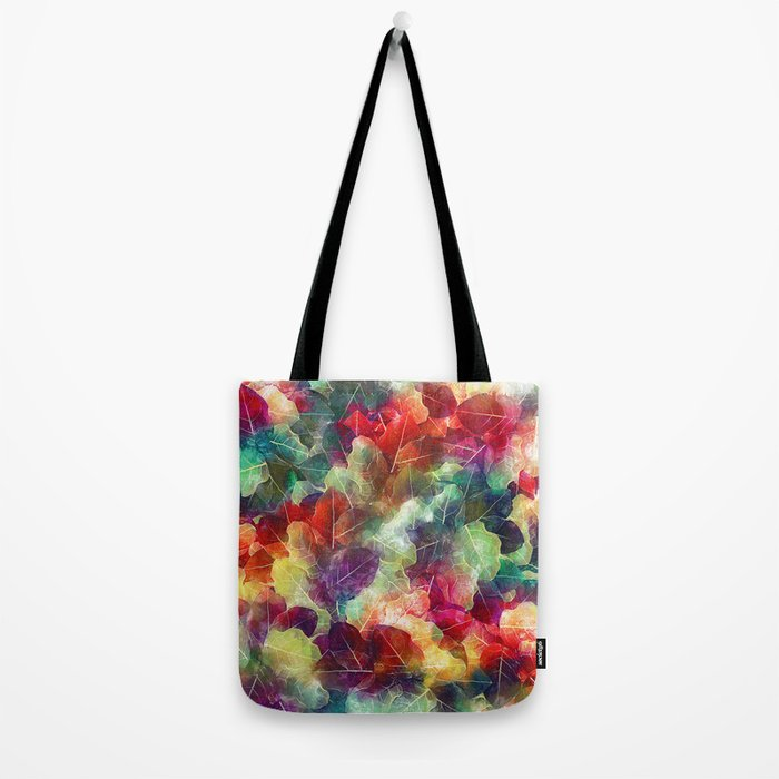 Multicolor Leaves Tote Bag