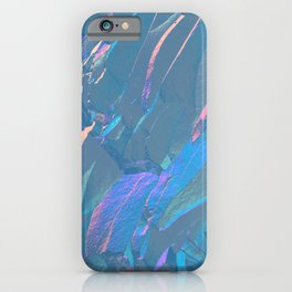 Holographic Artwork No 6 (Crystal) iPhone Case