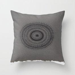 Tiny Detail Mandala Throw Pillow