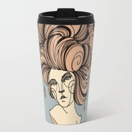 Drawing The Line Travel Mug