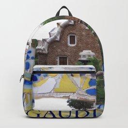 Gaudi, Barcelona Spain Backpack