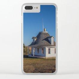 Hurd Round House, Wells County, North Dakota 13 Clear iPhone Case