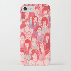 Girl Crowd Slim Case iPhone 7
