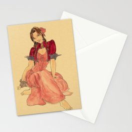 Steampunk Aerith Stationery Cards