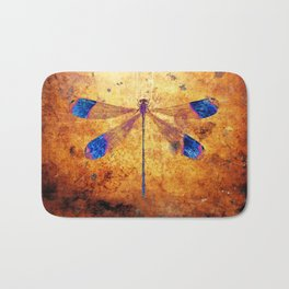 Dragonfly in Amber Bath Mat