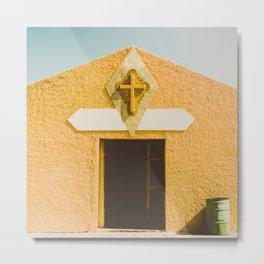 Desert Sin Metal Print