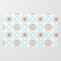 geo Area & Throw Rugs featuring Geo  by Laura Braisher