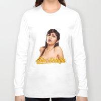 wiz khalifa Long Sleeve T-shirts featuring Mia Khalifa by MartiniWithATwist