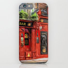 Temple Bar Irish Pub iPhone Case