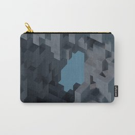 Abstract Concrete II Carry-All Pouch