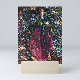 Tearing Through Mini Art Print