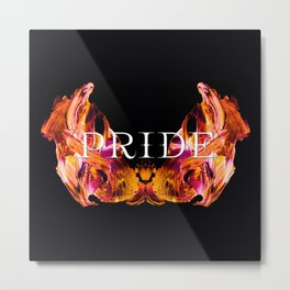 The Seven deadly Sins - PRIDE Metal Print