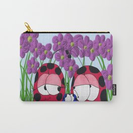 The Ladybug Family Carry-All Pouch