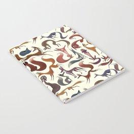 Foxy Pattern Notebook
