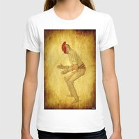 cock T-shirts featuring Cricket cock by Ganech joe