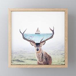 Perfect Balance Framed Mini Art Print