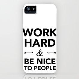 Quote iPhone Case