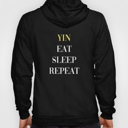 Yin Eat Sleep Repeat Hoody