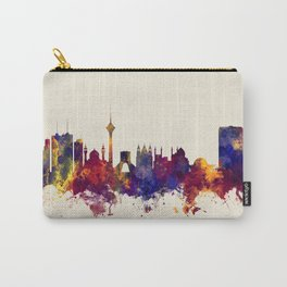 Tehran Iran Skyline Carry-All Pouch