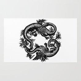 Salamander and Dragon Rug