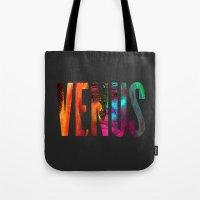 venus Tote Bags featuring Venus by Greg21