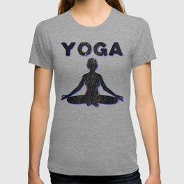 Yoga Meditating Female T-shirt