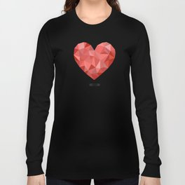 Gem hearts (PANTONE OF THE YEAR 2019) Long Sleeve T-shirt