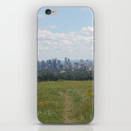 View of Calgary from Nosehill iPhone Skin
