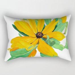 Sunshine Daisy Rectangular Pillow