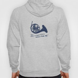 How I Met Your Mother - Blue French Horn Hoody
