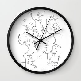 Dream no. 8 Wall Clock