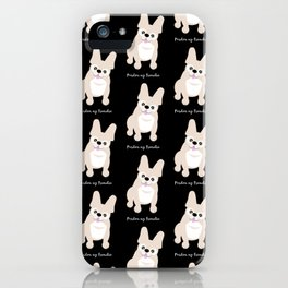 Pardon My Frenchie French Bulldog iPhone Case
