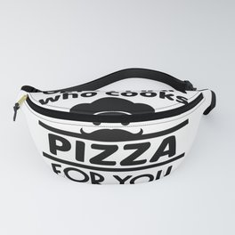 funny mothers day saying Mama Pizza Fanny Pack