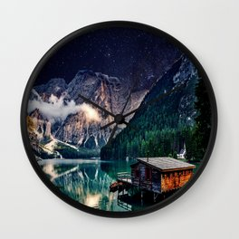 Mountain Life Wall Clock
