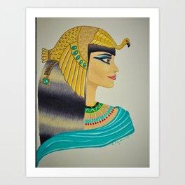Cleopatra Queen of Egypt Art Print