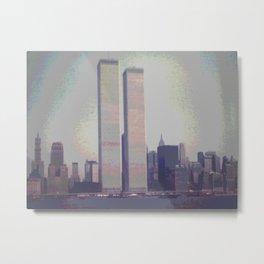 1970's Original Instagram L@@K photo of the World Trade Center with a digital tweak Metal Print