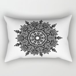 Beautiful Mandala Richly Detailed Art Graphic GC-001 Rectangular Pillow