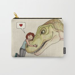 I love dinosaurs Carry-All Pouch