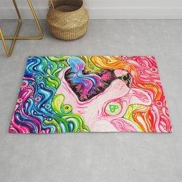 Glitterkitty - Acrylic Painting Rug