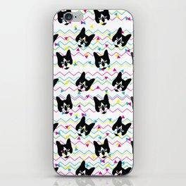 CMYK Cat Pattern iPhone Skin