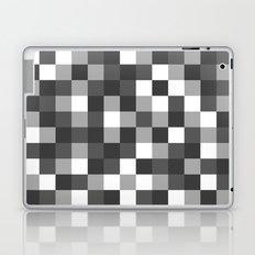 Colour Block Black and White Laptop & iPad Skin