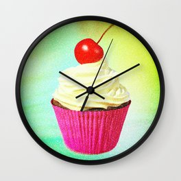 Better With Buttercream Wall Clock