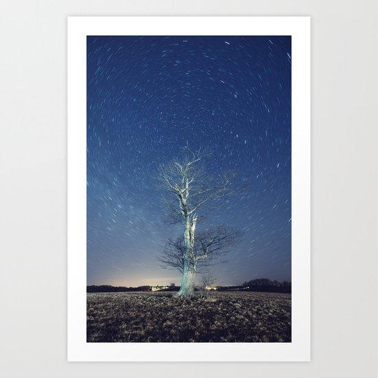 Whirling Overhead Art Print