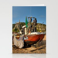 catcher in the rye Stationery Cards featuring Port Of Rye by Best Light Images